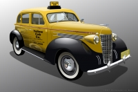 1937 Oldsmobile Taxi